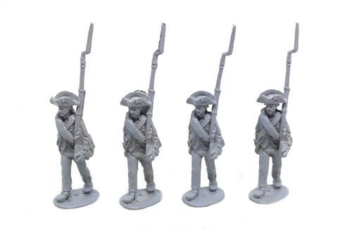 Fife & Drum - Continental marching, trousers and blanket roll (x4) - 28mm
