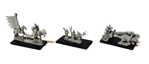 Warmaster - Dark Elves Characters - 10mm