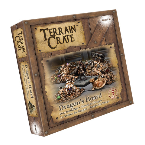 Mantic Games MGTC111 - TerrainCrate: Dragons Hoard