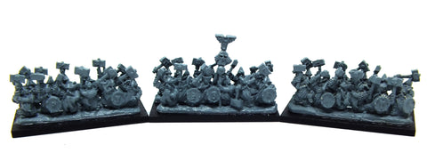 Warmaster - Dwarves Hammerers (RARE UNIT) - 10mm
