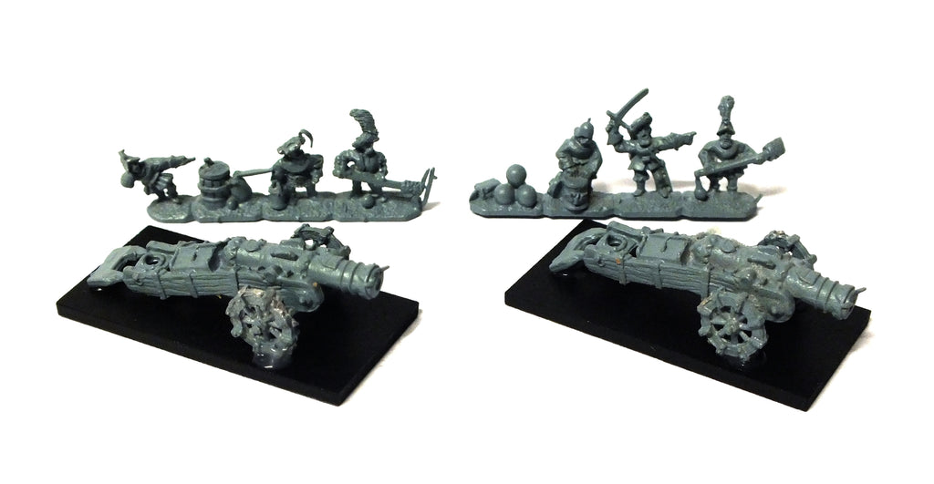 Warmaster - Empire Cannons - 10mm