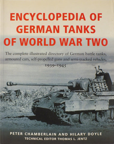 Books - Encyclopedia of german tanks of world war two