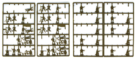 Esci - US soldiers (WWII) - SET202 - 1:72