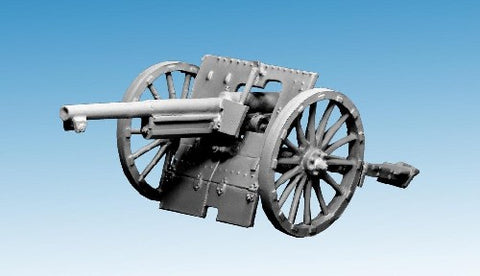 Great War Miniatures - World War One - M1897 75mm field gun - F119