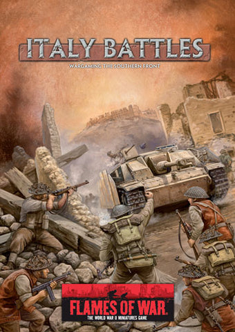 Books - Flames of war - Italy Battles