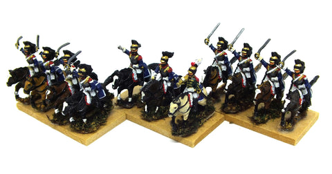 French cuirassier (Napoleonic Wars) - 15mm
