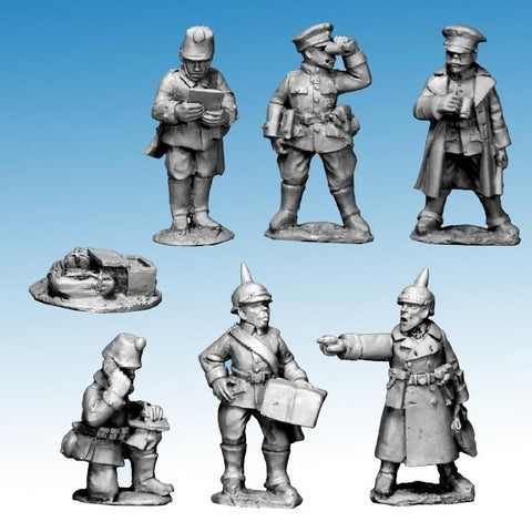 Great War Miniatures - World War One - German High Command 1914 - G110