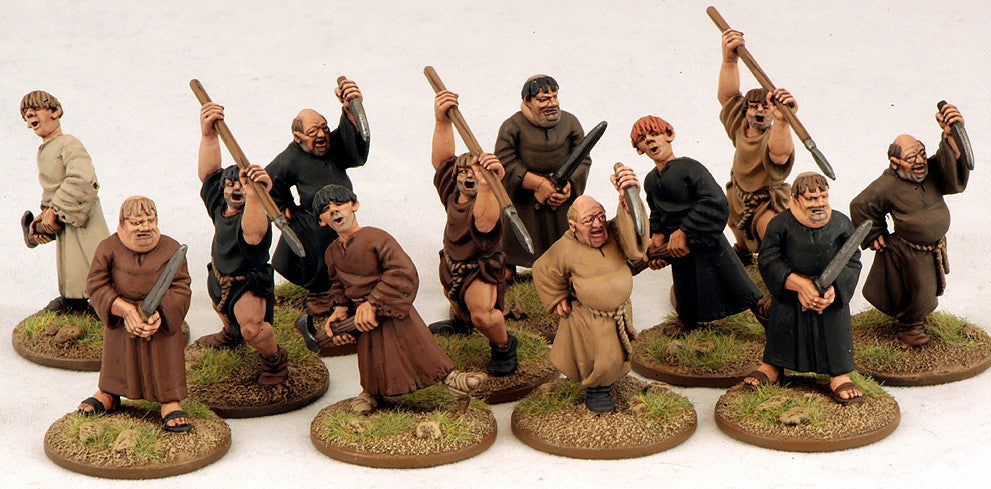 Gripping Beast SFH07 / DOW01 - SAGA - Angry Monks/Fanatic Pilgrims - 28mm