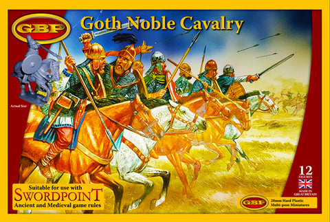 Gripping Beast - Goth Noble Cavalry - 28mm - GBP21