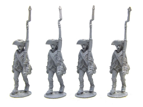 Fife & Drum - Continental marching, breeches, tumpline, gaitors (x4) - 28mm
