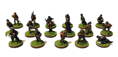 German late infantry (WWII) - 28mm
