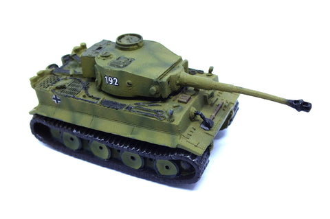 German tank tiger I in metal - 1:72