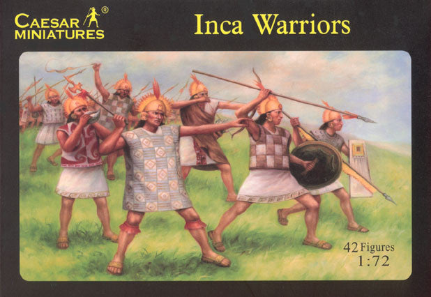 Caesar Miniatures - H026 - Inca Warriors - 1:72 (OOP)
