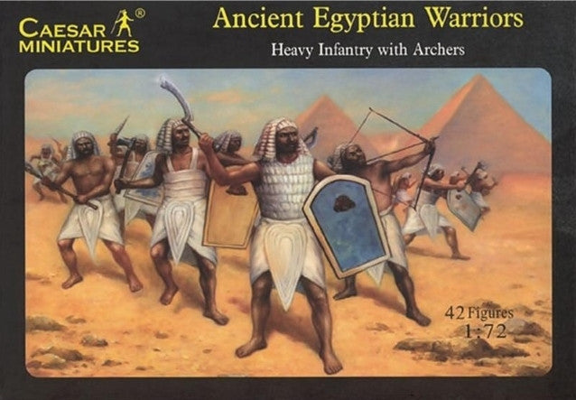 Caesar Miniatures - Ancient Egyptian Warriors - 1:72 - H047