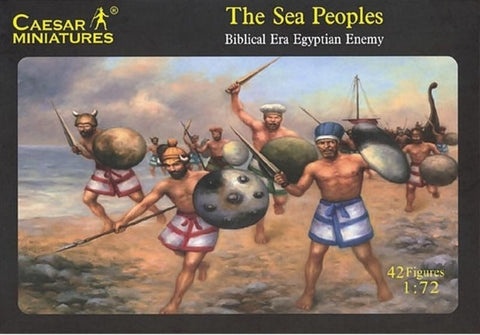 Caesar Miniatures - The Sea Peoples - 1:72