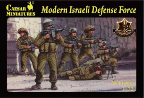 Caesar Miniatures H057 - Modern Israeli Defense Force - 1:72