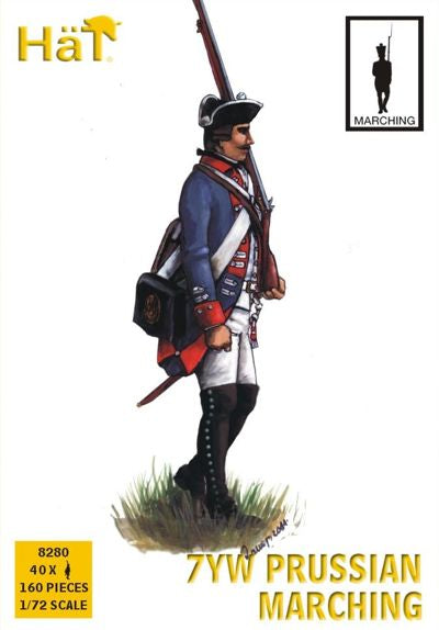 Hat 8280 - 7YW Prussian Marching - 1:72