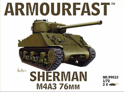 Armourfast - 99012 - M4A3 Sherman 76mm - 1:72