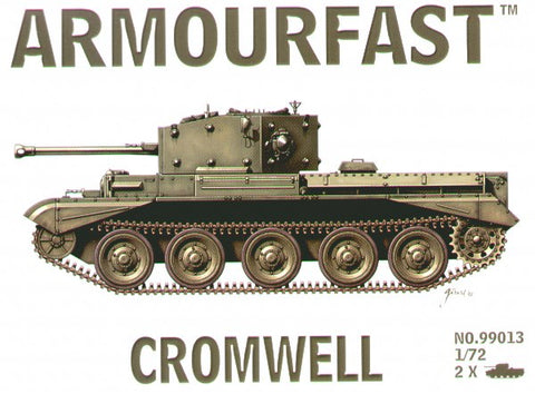 Armourfast - Cromwell tanks - 1:72