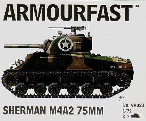 Armourfast - M4A2 Sherman 75mm - 1:72