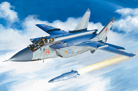 Hobby Boss 81770 - Mikoyan MiG-31BM with KH-47M2 - 1:48