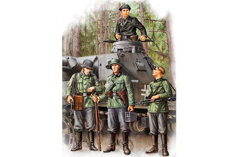 Hobby Boss HB84413 - German Infantry Set Vol.1 (Early) (WWII) - 1:35