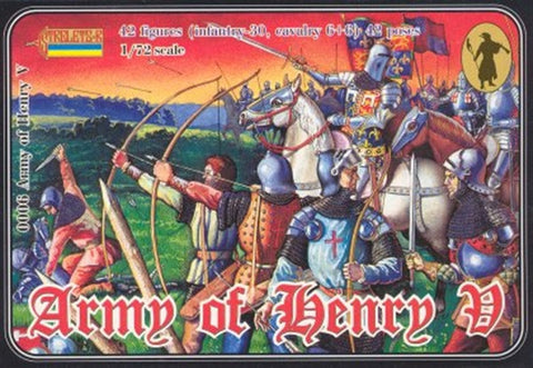 Strelets - Army of Henry V - 1:72