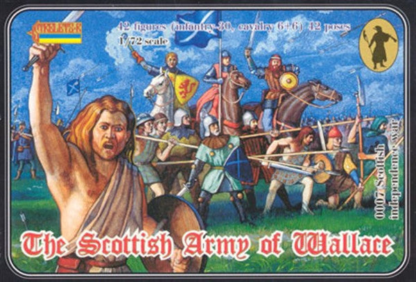 Strelets 0007 - The Scottish army of Wallace - 1:72