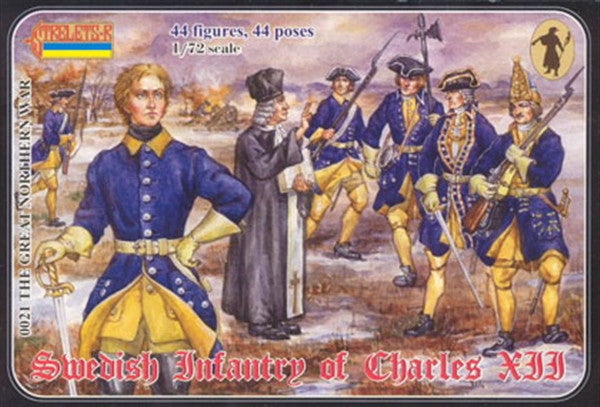 Strelets - Swedish infantry of Charles XII - 1:72