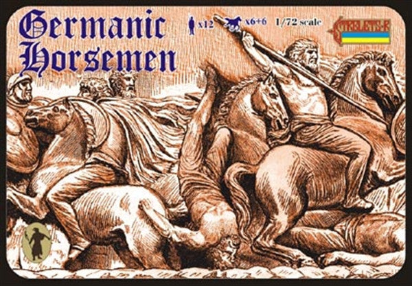 Strelets - Germanic Horsemen - 1:72