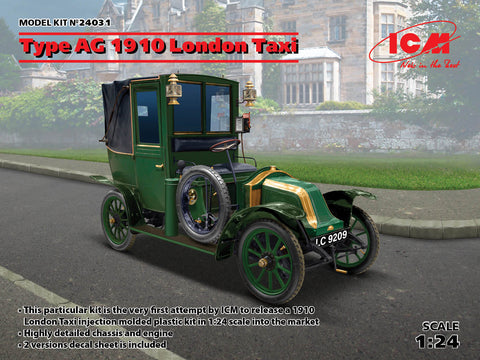 ICM - 24031 - Renault Type AG 1910 London Taxi - 1:24