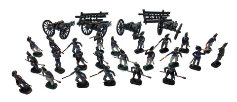 Esci - British Artillery (Napoleonic Wars) - 1:72 - SET 233 - PAINTED