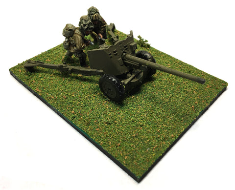 American 57mm Anti-Tank Gun - 28mm - PAINTED