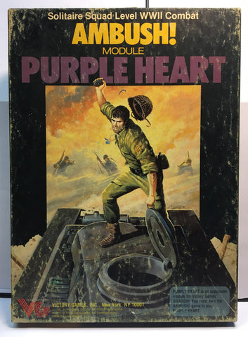Boardgame - Ambush Modules: Purple Heart (Victory Games Military Similations, Game No. 30010)