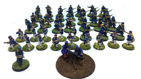 French Infantry Army - WWI - 28mm - 48 Figures