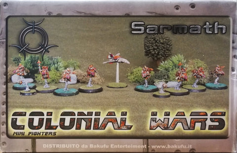 Colonial Wars mini fighters - Sarmath - 1:72