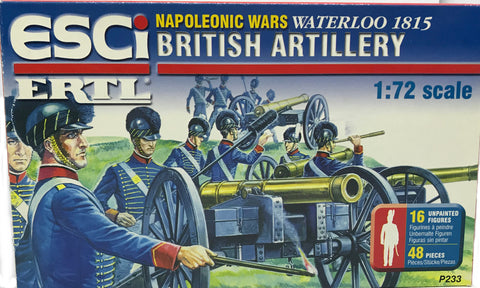 Esci - British Artillery (Napoleonic Wars) - 1:72 - 233 - Empty box
