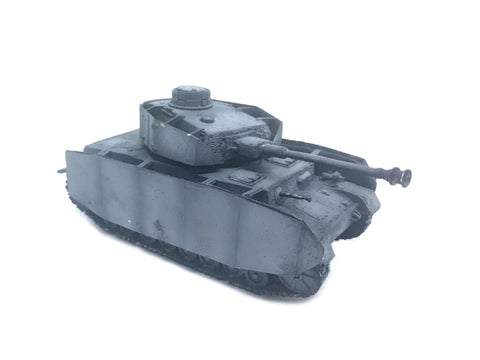 Bolt Actionj - Panzer IV tank - WWII - 28mm