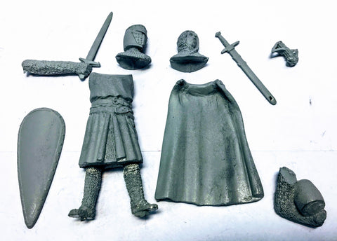 Medieval Knight (metal) - 54mm