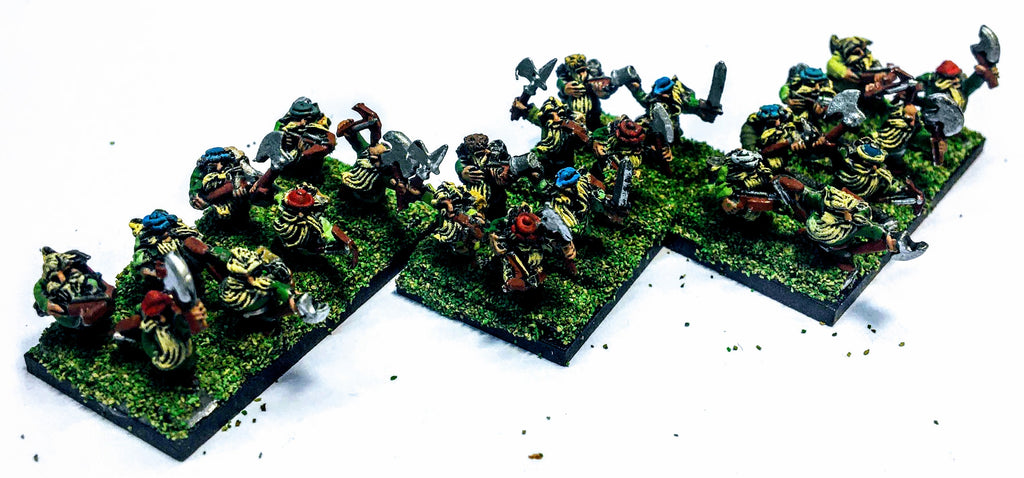 Warmaster - Dwarves Rangers - 10mm - PAINTED