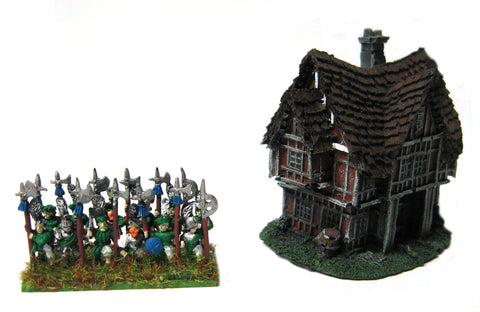 Forge World for Warmaster - Empire Small House 10mm