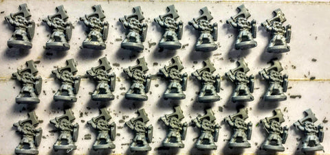 Epic - Chaos Beastmen x25 - 6mm