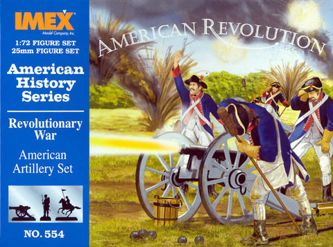 Imex - American artillery set (American History series) - 1:72