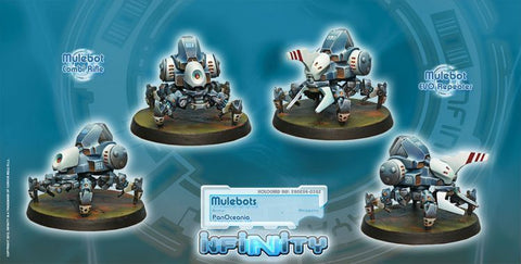 Infinity - PanOceania - Mulebots - 28mm