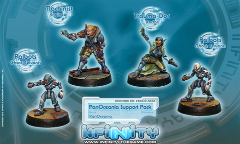 Infinity - PanOceania support pack - 28mm