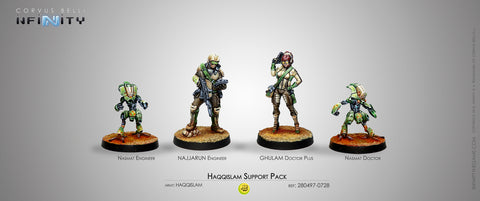 Infinity - Haqqislam support pack - 28mm