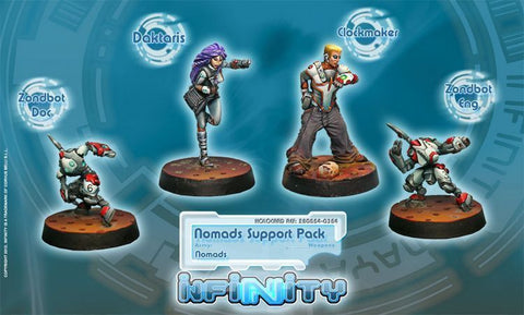 Infinity - Nomads support pack - 28mm
