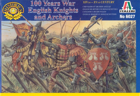 Italeri - 100 Years war English knights and archers - 1:72 - 6027