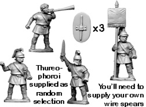 Ancients RFA026 - Greek Thureophoroi Command