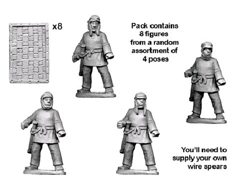 Ancients RFA041 - Persian Sparabara Spearmen